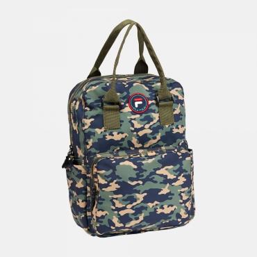 Fila Kids Mini Backpack Coated Printed Camo desert-camo