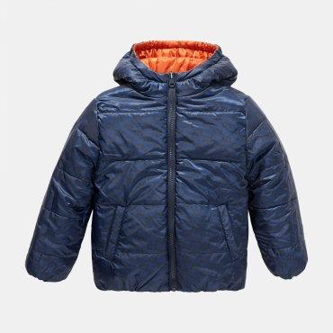Fila Kids Nicolo Reversible Puff Jacket