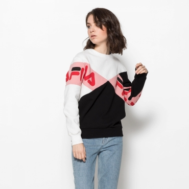 Fila Lidia Boyfriend Fit Shirt black-white