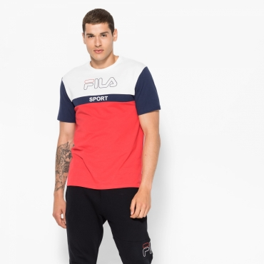 Fila Manning Blocked Tee