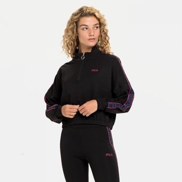 Fila Maribel Cropped Half Zip black