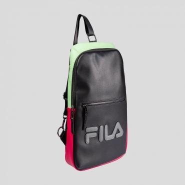 Fila Men Backpack black-green-sangria