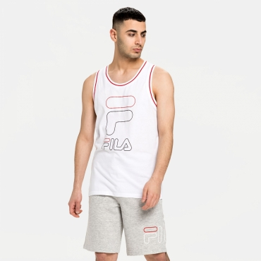 Fila Men Jani Sporty Tank Top