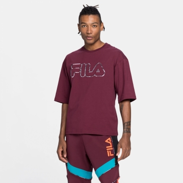 Fila Nik Oversized Tee fig