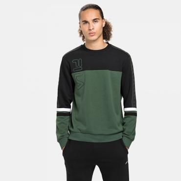 Fila Odo Crew Shirt sycamore-black