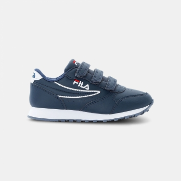 Fila Orbit Velcro Low JR dress-blue