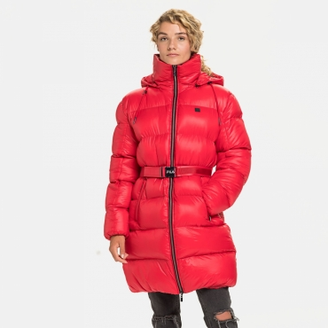 Fila Phyliss Puff Coat true-red