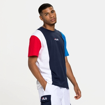 Fila Saint Tee Men blue-white-red
