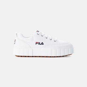 Fila Sandblast Canvas Wmn white