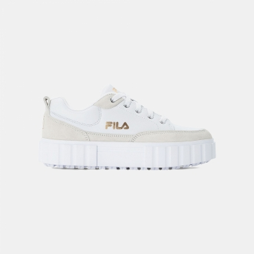 Fila Sandblast Low MG Wmn white-gold