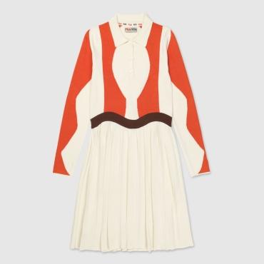 Fila Serena Knitted Dress Wmn eggnog