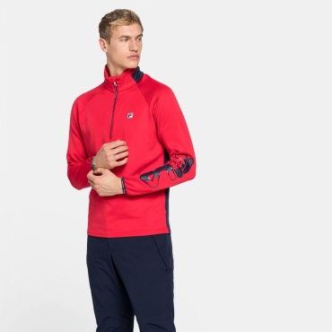 Fila Shannen Half Zip Shirt Men