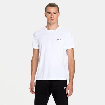 Fila Shirt Logo Small white