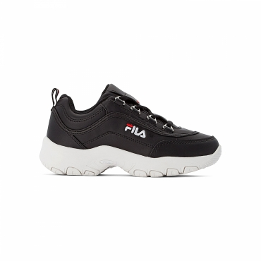 Fila Strada Low Kids black-white