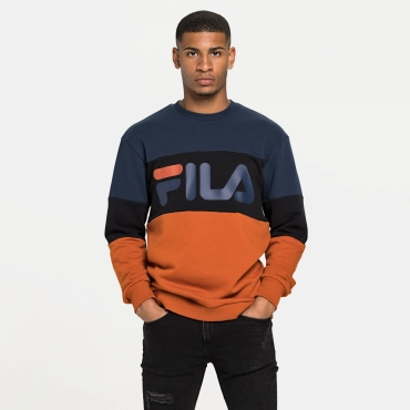 Fila Straight Blocked Crew black-iris