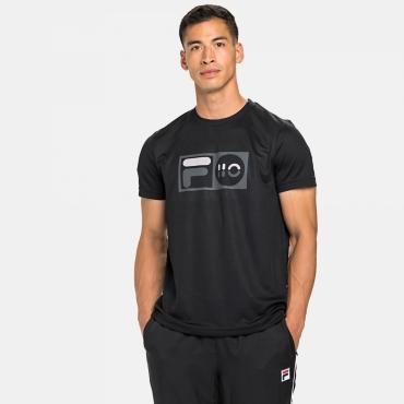 Fila T-Shirt Milo black