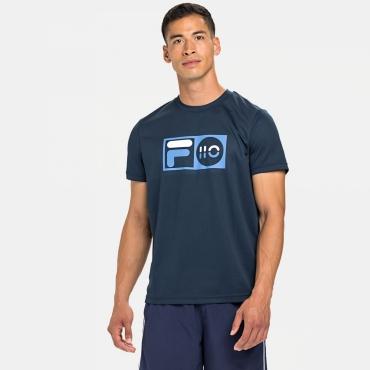Fila T-Shirt Milo dark blue