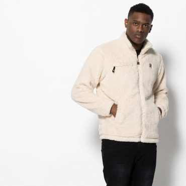 Fila Teddy High Funnel Neck Sherpa Zip Thru