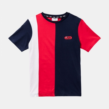 Fila Teens Bill Blocked Tee