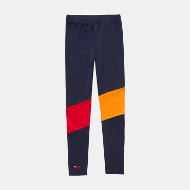 Fila Teens Bita Leggings navy-orange-red