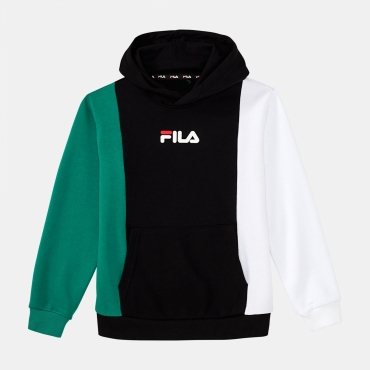 Fila Teens Blocked Hoody black-white-shady