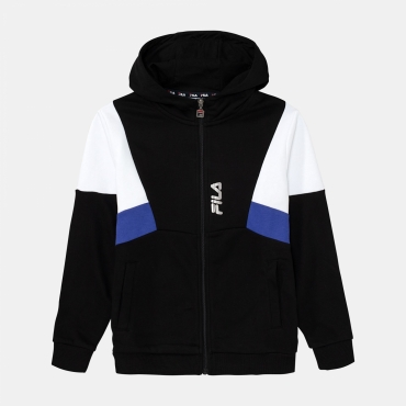 Fila Teens Boys Basti Hooded Sweat Jacket