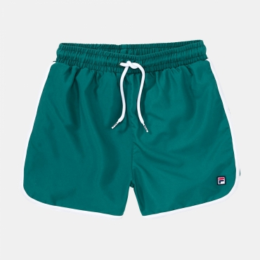 Fila Teens Boys James Retro Swim Shorts