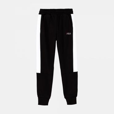 Fila Teens Boys Larel Panel Sweat Pant black-white
