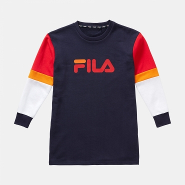 Fila Teens Britney Sweat Dress navy