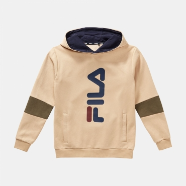 Fila Teens Emilio Hoody irish-cream-grape