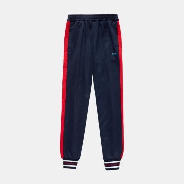 Fila Teens Otello Aop Track Pants black-iris-red
