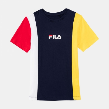 Fila Teens Tate Blocked Tee