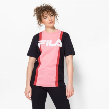 Fila Victorie Large Logo Color Block Tee