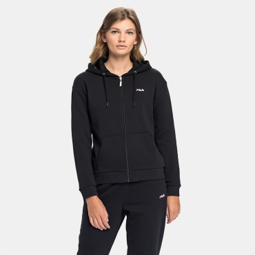 Fila Wmn Ebony Sweat Jacket black