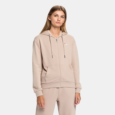 Fila  	Wmn Ebony Sweat Jacket oxford-tan
