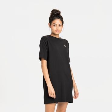 Fila Wmn Elle Tee Dress black