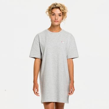 Fila Wmn Elle Tee Dress lightgrey-melange