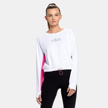 Fila Wmn Evelyn Cropped Shirt