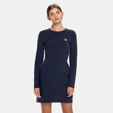 Fila Wmn Hesper Long Sleeve Dress