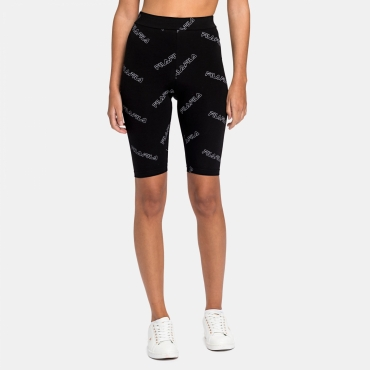 Fila Wmn Janelle AOP Shorts Leggings black