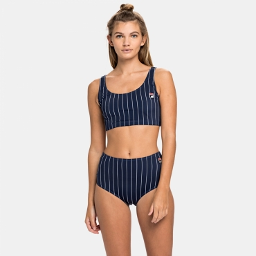 Fila Wmn Noemi AOP Bikini High Waist Panty
