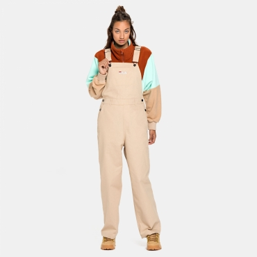 Fila Wmn Waneta Cropped Dungarees irish-cream