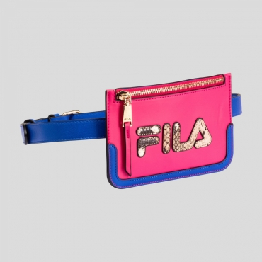 Fila Women Belt Bag royal-blue-beetroot-purple