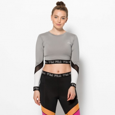 Fila Alary Cropped Long Sleeve