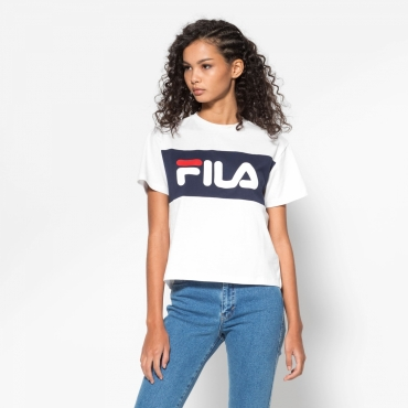Fila Allison Tee white-black-iris