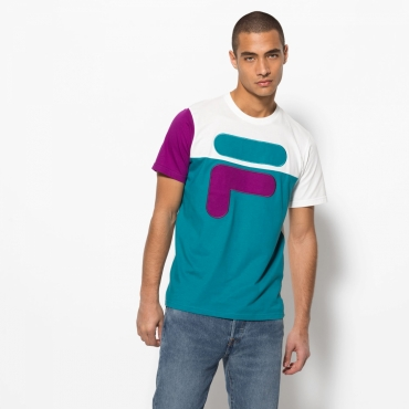 Fila Baldwin Large F Colour Block Tee