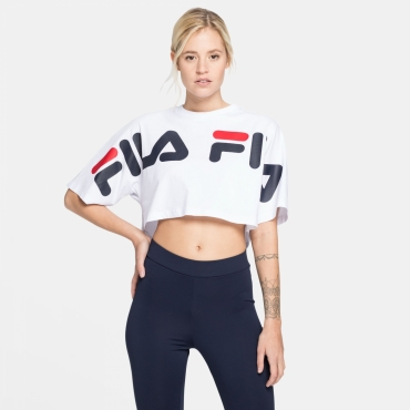 Fila Barr Cropped Wide Tee