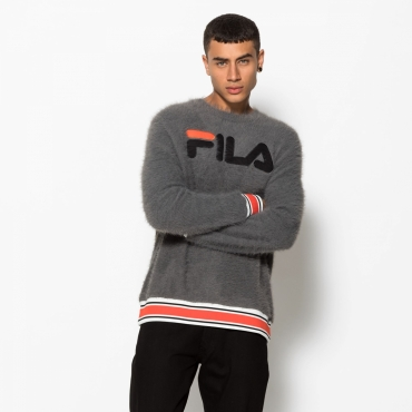 Fila Cash Eyelash Knit Funnel Neck