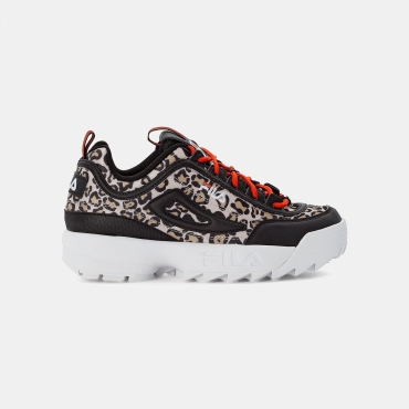Fila Disruptor Animal Wmn leo-black