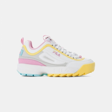 Fila Disruptor CB Low Wmn white-limelight
